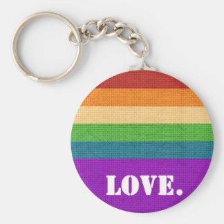 LGBT Love Keychain
