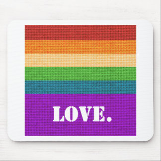 LGBT Love Mouse Pad