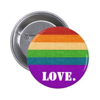 LGBT Love Pinback Button