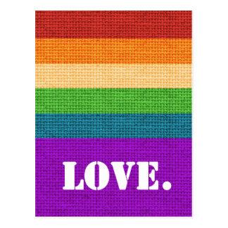 LGBT Love Postcard