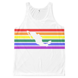 LGBT Mexico Pride All-Over-Print Tank Top