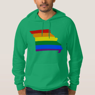 LGBT Missouri, US state flag map Sweatshirt