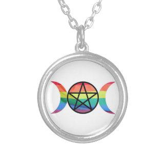 LGBT Pagan Pride Necklace