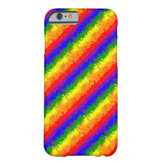 LGBT Paint Splatter Rainbow Flag Barely There iPhone 6 Case