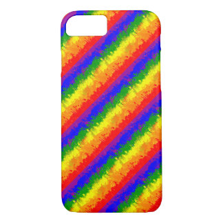 LGBT Paint Splatter Rainbow Flag iPhone 7 Case