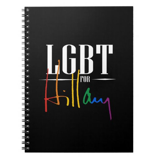 LGBT PARA HILLARY - .PNG CUADERNOS