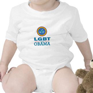 LGBT para OBAMA Traje De Bebé