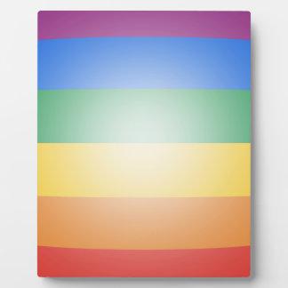 LGBT PRIDE 3D COLORS PLAQUES