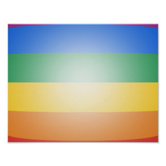 LGBT PRIDE 3D COLORS POSTER