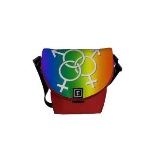 LGBT Pride Bag Rainbow Love Messenger Bag
