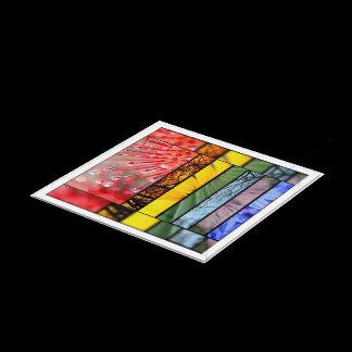 LGBT Pride Nature Rainbow Symbol Custom Acrylic Tray