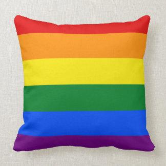LGBT pride pillow Throw Pillows