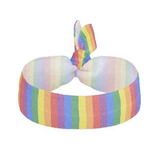 LGBT Pride Rainbow Flag Colors Ribbon Hair Tie