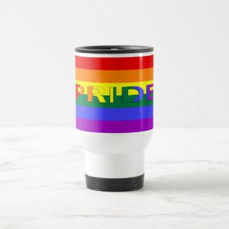 LGBT Pride Rainbow Flag Travel Mug