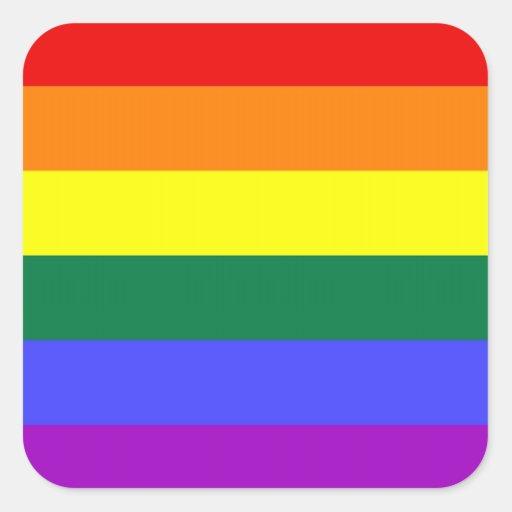 LGBT Pride Stickers (Square)