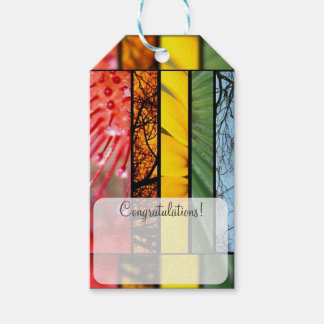 LGBT Pride Symbol Nature Rainbow Personalized Gift Tags