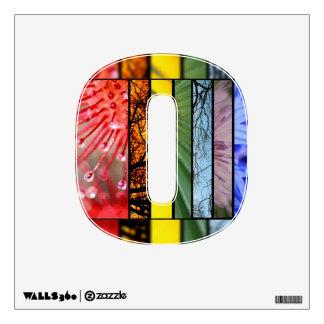 LGBT Pride Symbol Nature Rainbow Wall Sticker