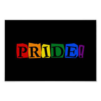 LGBT pride text sign