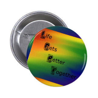 LGBT Protest Resist Equality Button