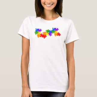LGBT Puzzle Pieces T-Shirt