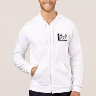 LGBT rainbow family hoodie sweat shirt
