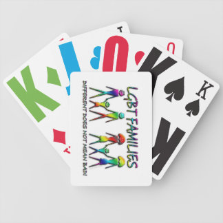 LGBT Rainbow Family Playing Cards