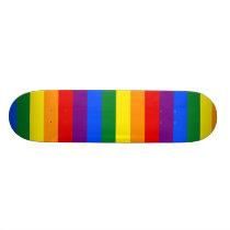 LGBT Rainbow flag Skateboard