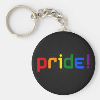 LGBT rainbow pride Keychain