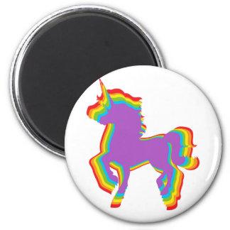 LGBT Rainbow Unicorn Magnet