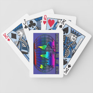 LGBT Rainbow World Deck Of Playing Cards