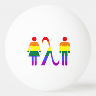 LGBT Solidarity Ping Pong Ball
