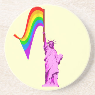 LGBT Statue of Liberty Coaster