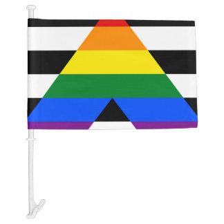 LGBT straight ally flag