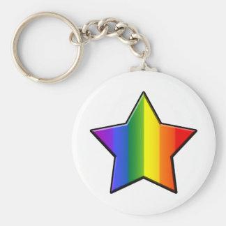 LGBT Super Star Key Chains