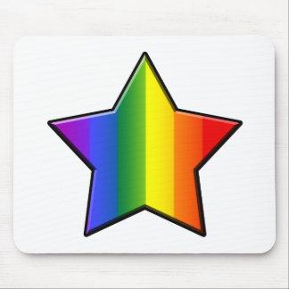 LGBT Super Star Mouse Pad