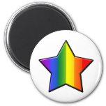 LGBT Super Star Refrigerator Magnet
