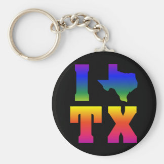LGBT Texas Pride (2) Keychain