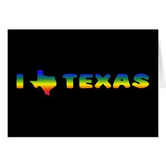 LGBT Texas Pride Card