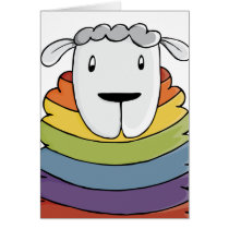 LGBT | Valentine's | Sheep | Pride | Card