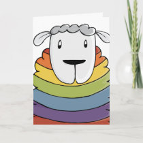 LGBT | Valentine's | Sheep | Pride | Holiday Card