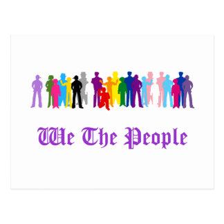 LGBT We The People design Postcard