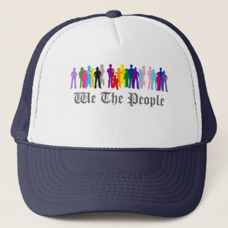 LGBT We The People design Trucker Hat