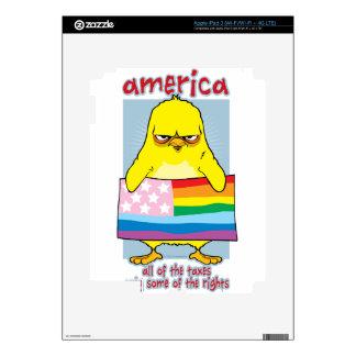 LGBTQ America iPad 3 Decals