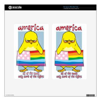 LGBTQ America Kindle Fire Skins