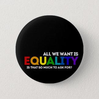 LGBTQ Equality Button
