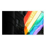 LGBTQ Flag Double-Sided Standard Business Cards (Pack Of 100)
