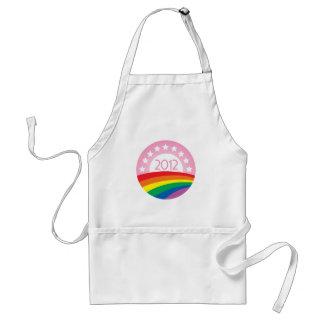 LGBTQ for Obama Adult Apron