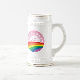 LGBTQ for Obama Beer Stein