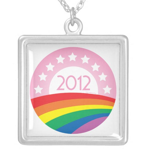 LGBTQ for Obama Necklaces
