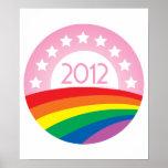 LGBTQ for Obama Poster
